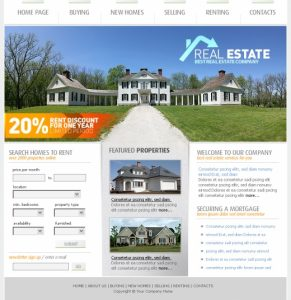 How To Make A Good Real Estate Website